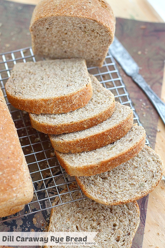 Rye Bread Recipe  Dill caraway rye bread recipe
