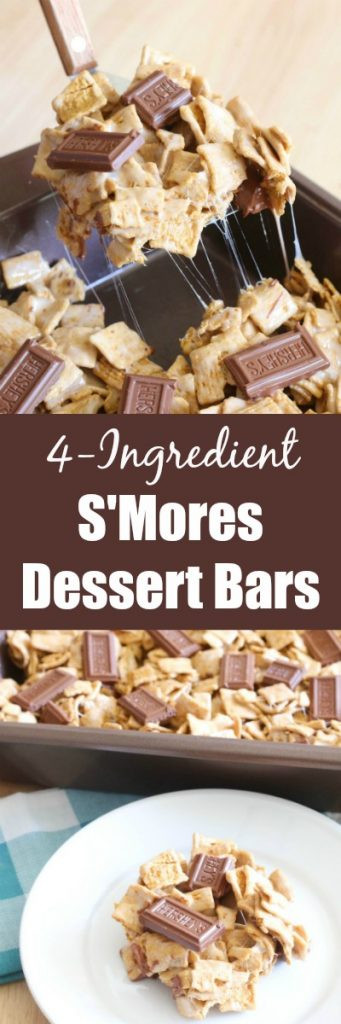 S Mores Dessert Bars  No Bake S Mores Dessert Bars Recipe All Things Mamma