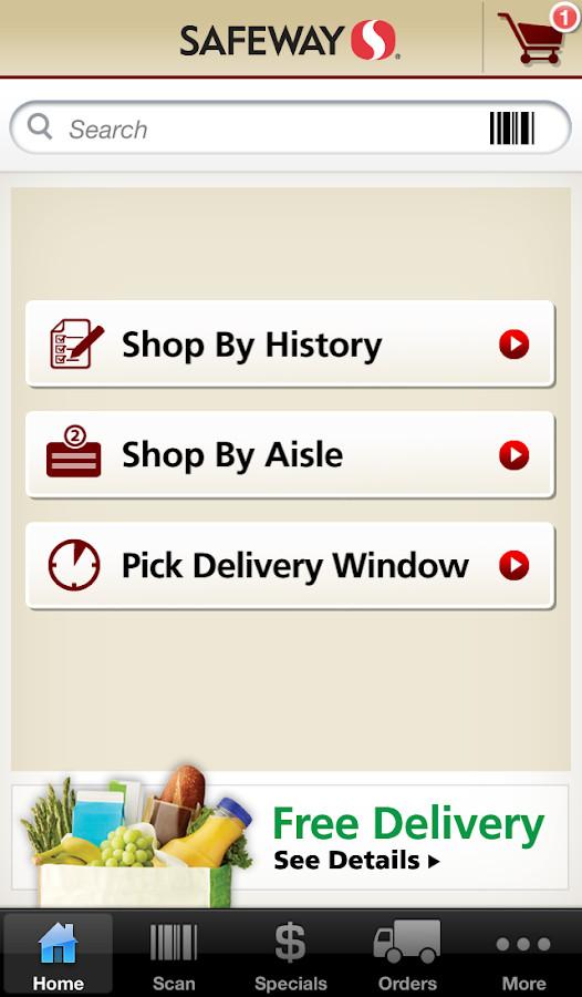 Safeway Fried Chicken  safeway delivery information