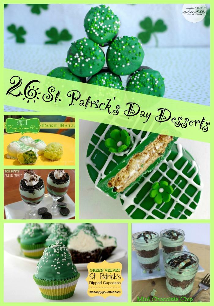 Saint Patrick'S Day Desserts  26 St Patricks Day Desserts Food Fun & Faraway Places