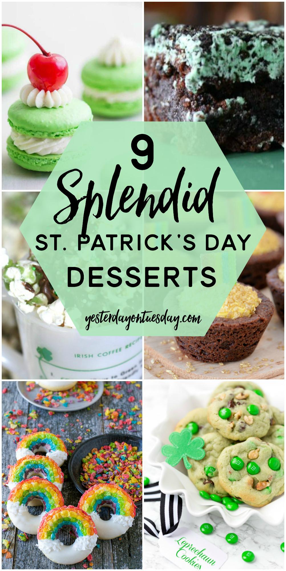Saint Patrick'S Day Desserts  9 Splendid St Patrick s Day Desserts