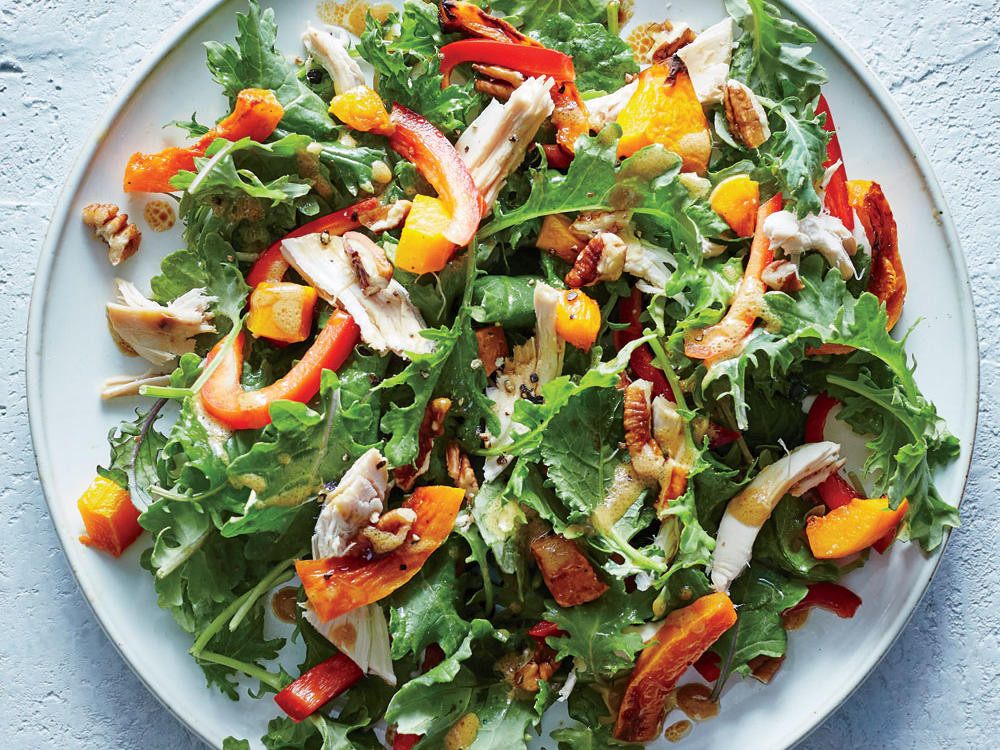 Salads For Dinner  Dinner Salads with Poultry and Meats Cooking Light