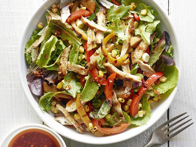 Salads For Dinner  Main Dish Chicken Salads