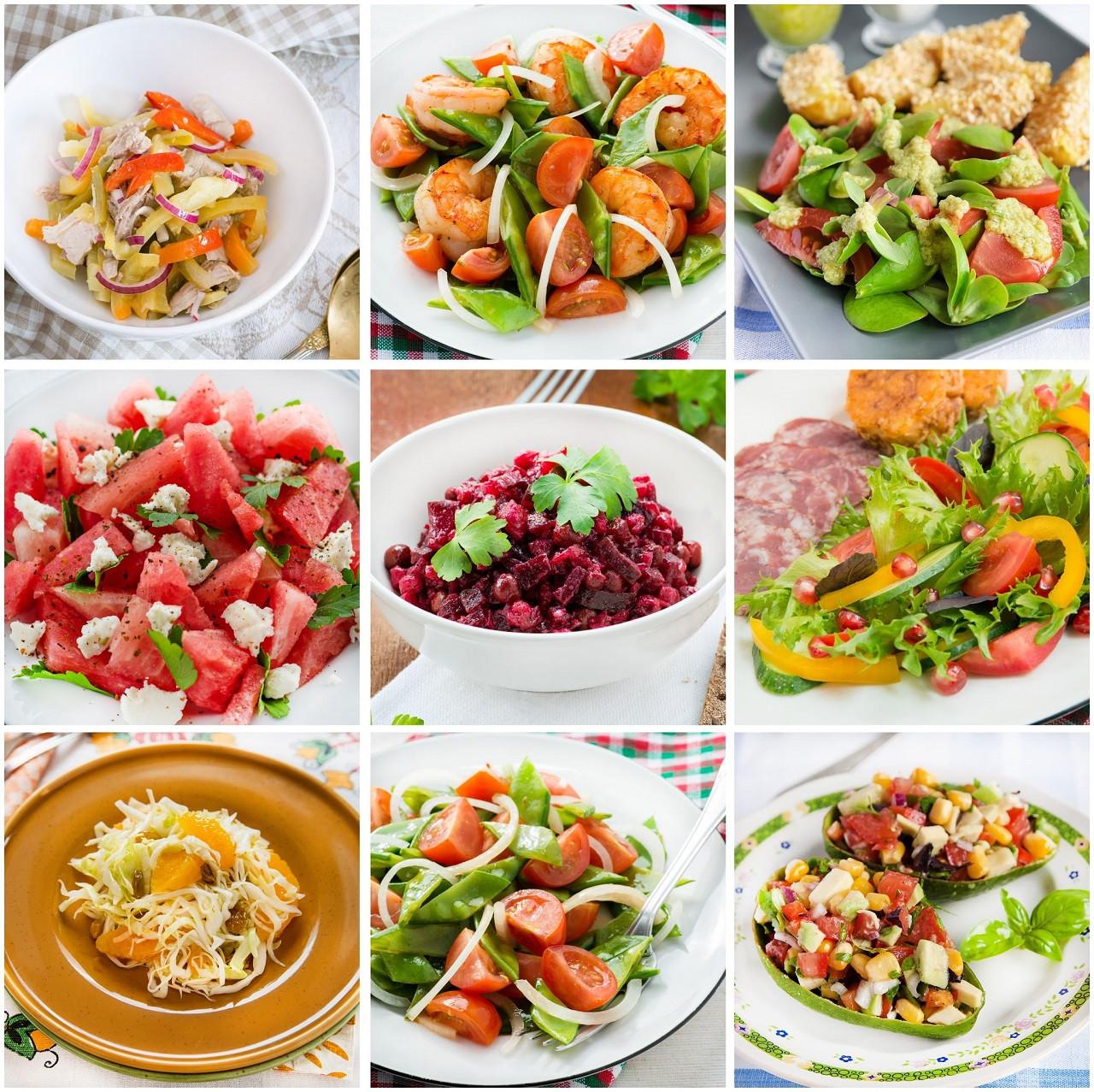 Salads For Dinner  WatchFit 5 Crunchy Healthy Salads For Dinner