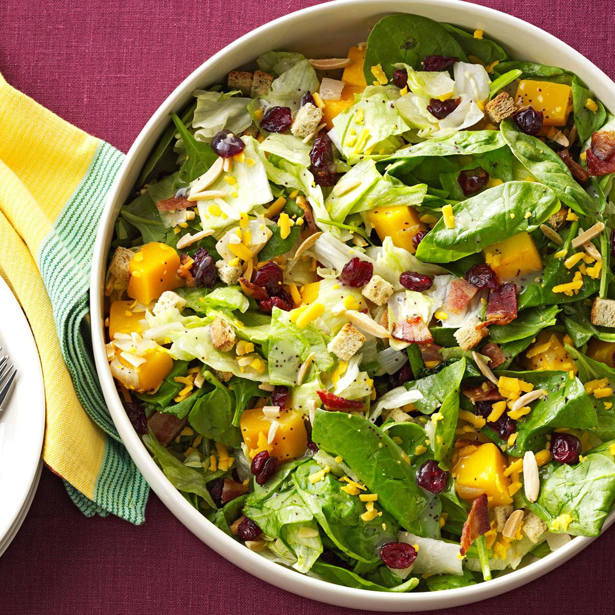 Salads For Thanksgiving  Roasted Butternut Tossed Salad Recipe