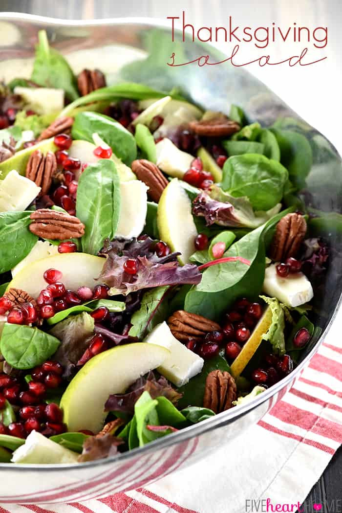 Salads For Thanksgiving  Thanksgiving Salad