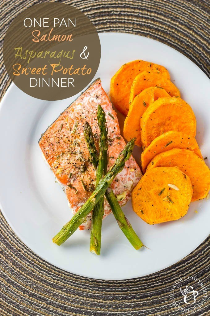 Salmon And Sweet Potato  e Pan Salmon Asparagus & Sweet Potato Dinner Catz in