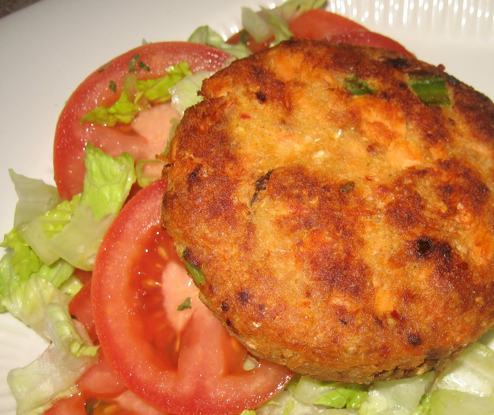 Salmon Cake Recipe  Reel Good Recipes Great Recipes Inspired by Great Movies
