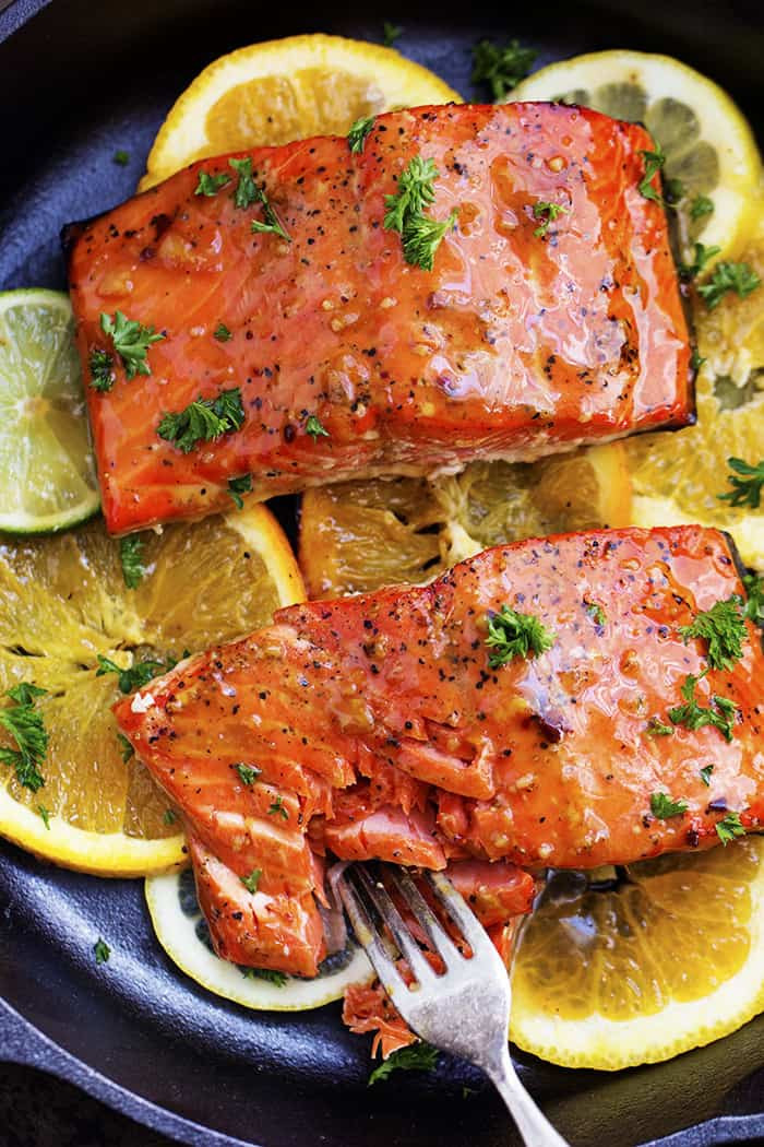 Salmon Dinner Ideas  Grilled Triple Citrus Salmon