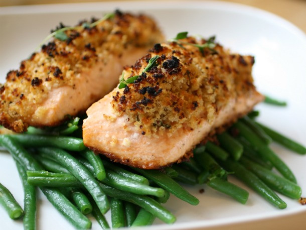 Salmon Dinner Ideas  Dinner for Two Easy Crunchy Mustard Baked Salmon