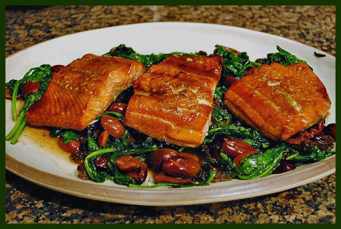 Salmon Dinner Sides  side dishes salmon recipes