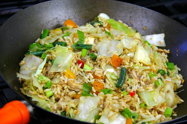 Salmon Fried Rice  Fast And Easy Salmon Fried Rice