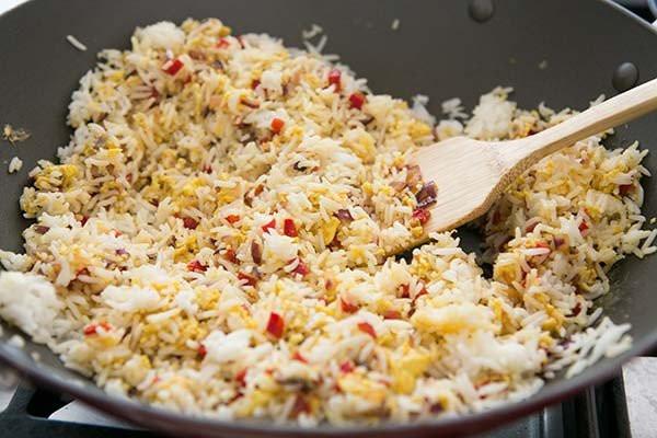 Salmon Fried Rice  Salmon Fried Rice Recipe