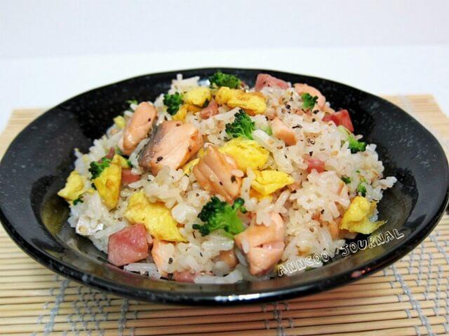 Salmon Fried Rice  Salmon Fried Rice Anncoo Journal