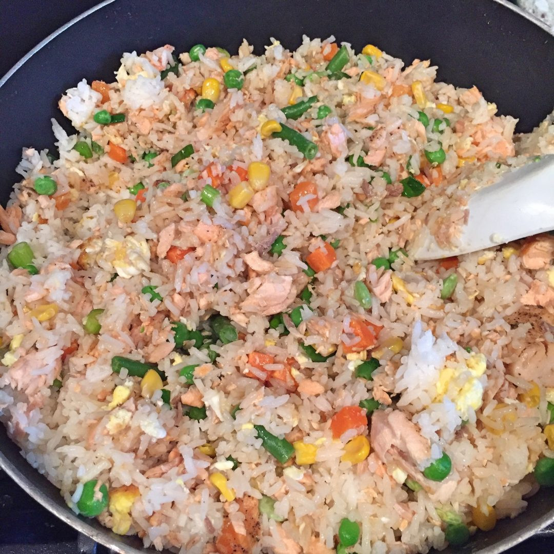 Salmon Fried Rice  Salmon Fried Rice – Culinary Cents – A Frugal Foo