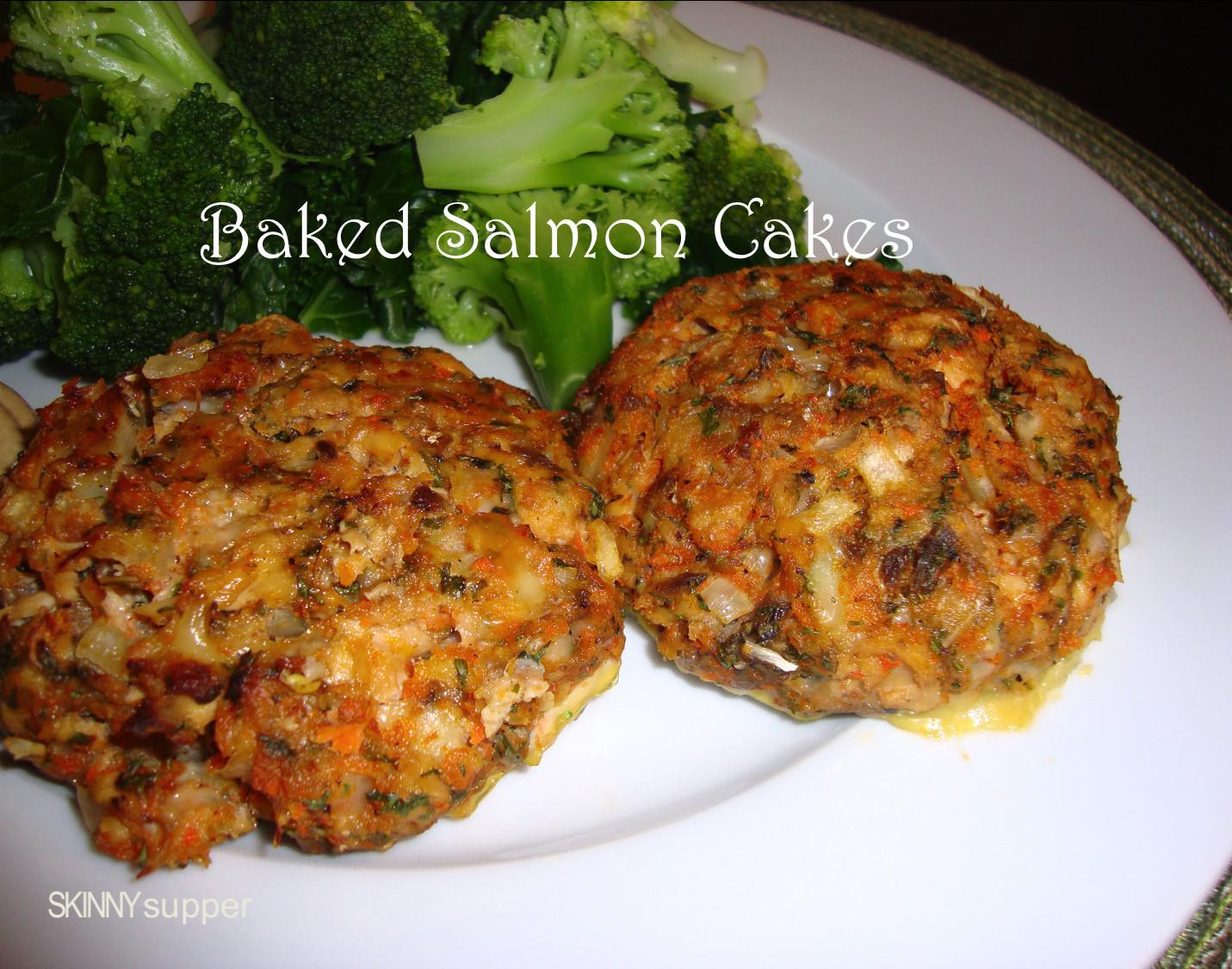 Salmon Patties Baked  salmon patty calories