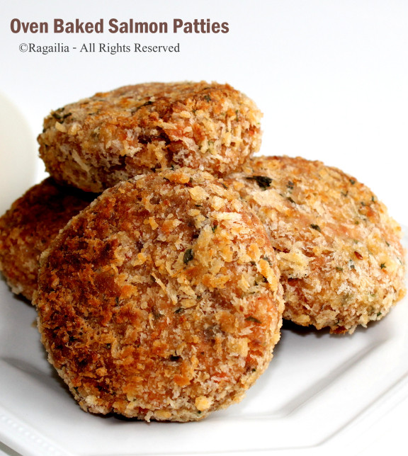 Salmon Patties Baked  Oven baked salmon patties – Ragailia