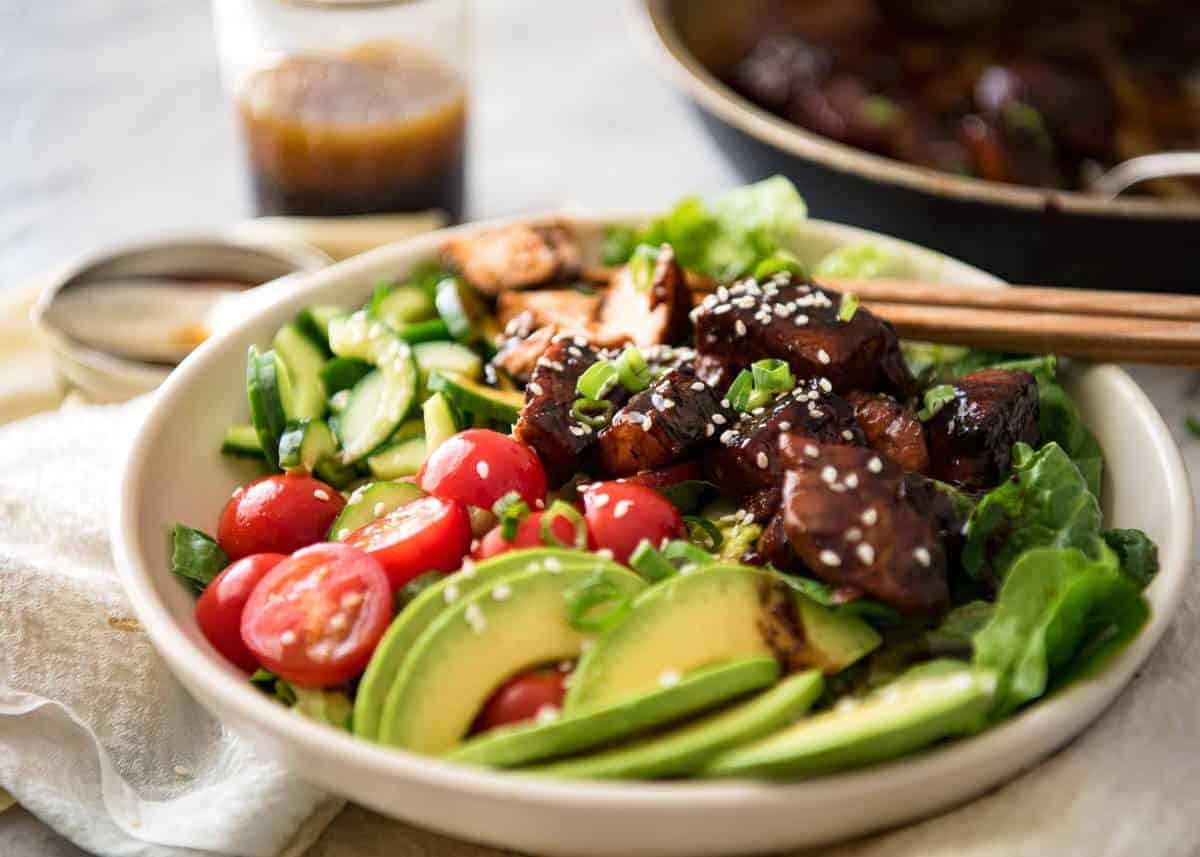 Salmon Salad Recipe  Asian Salmon Salad