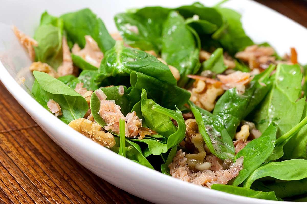 Salmon Salad Recipe  Smoked Salmon Salad with Caper Vinaigrette Life s Ambrosia