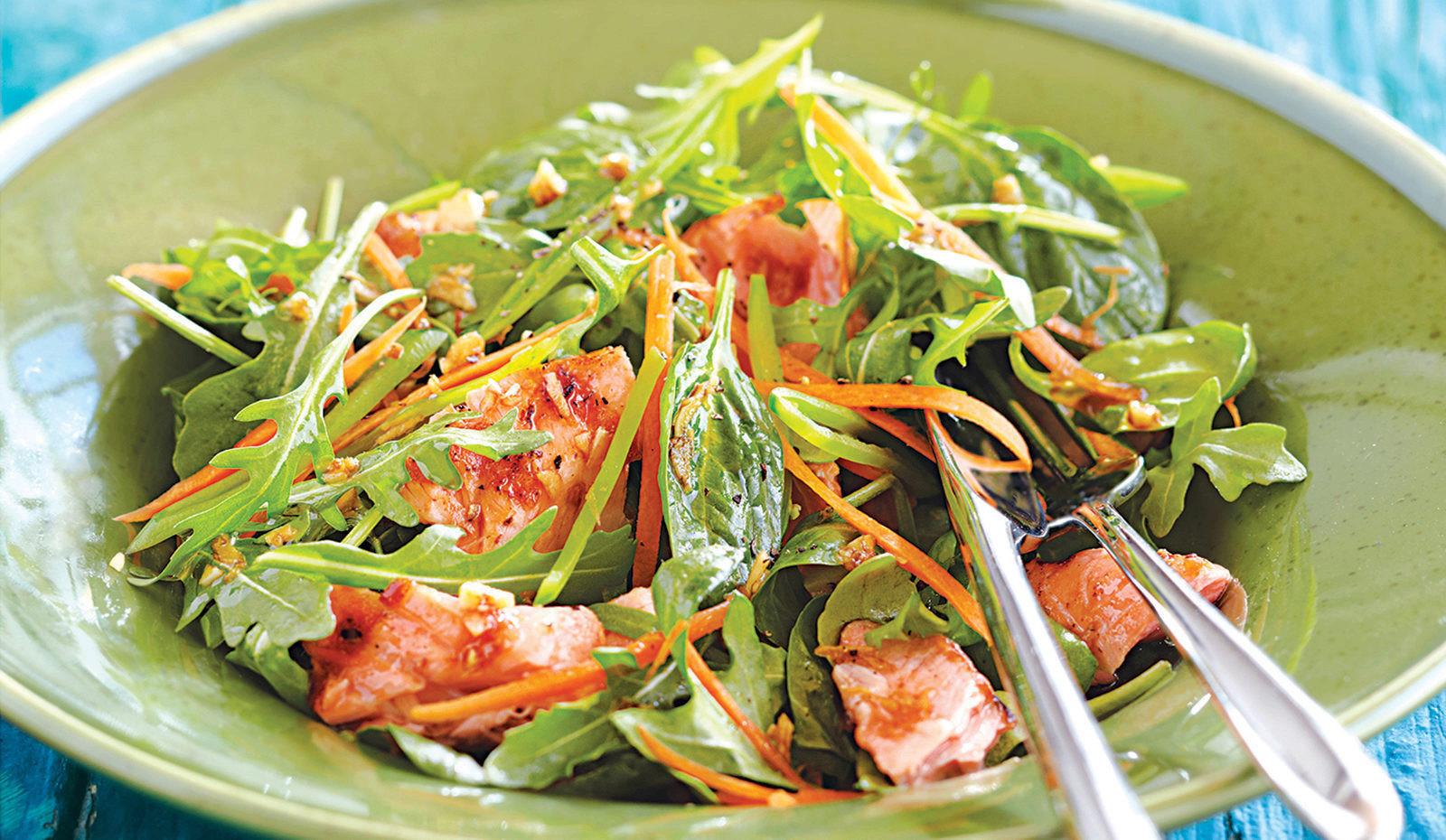 Salmon Salad Recipe  Asian Style Grilled Salmon Salad Sobeys Inc