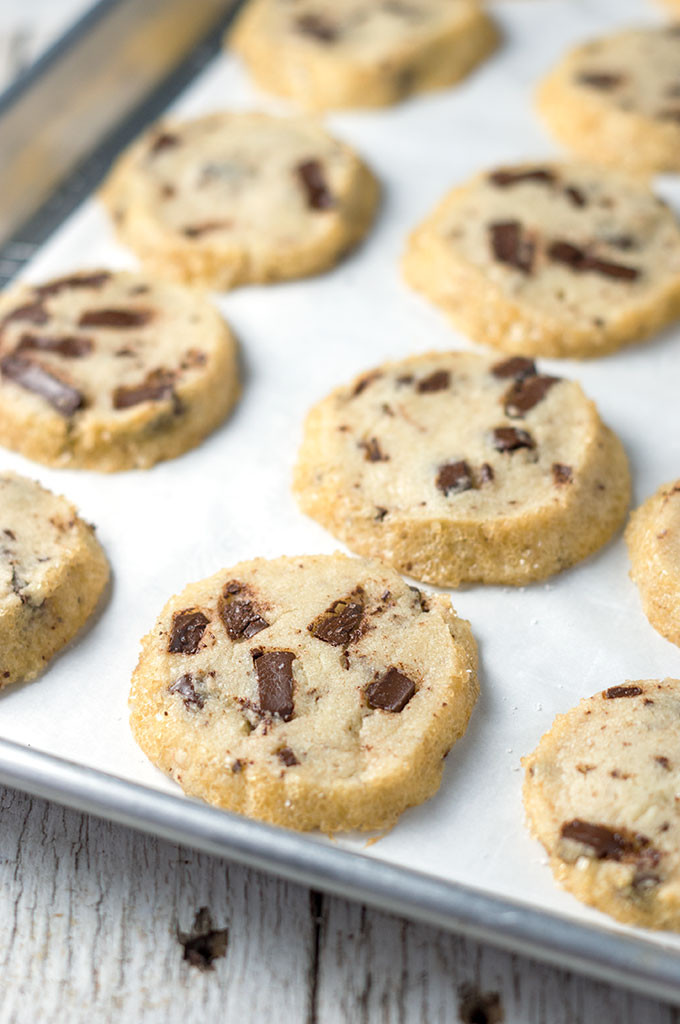 Salted Butter Chocolate Chunk Shortbread Cookies  Alison Roman s Salted Butter and Chocolate Chunk