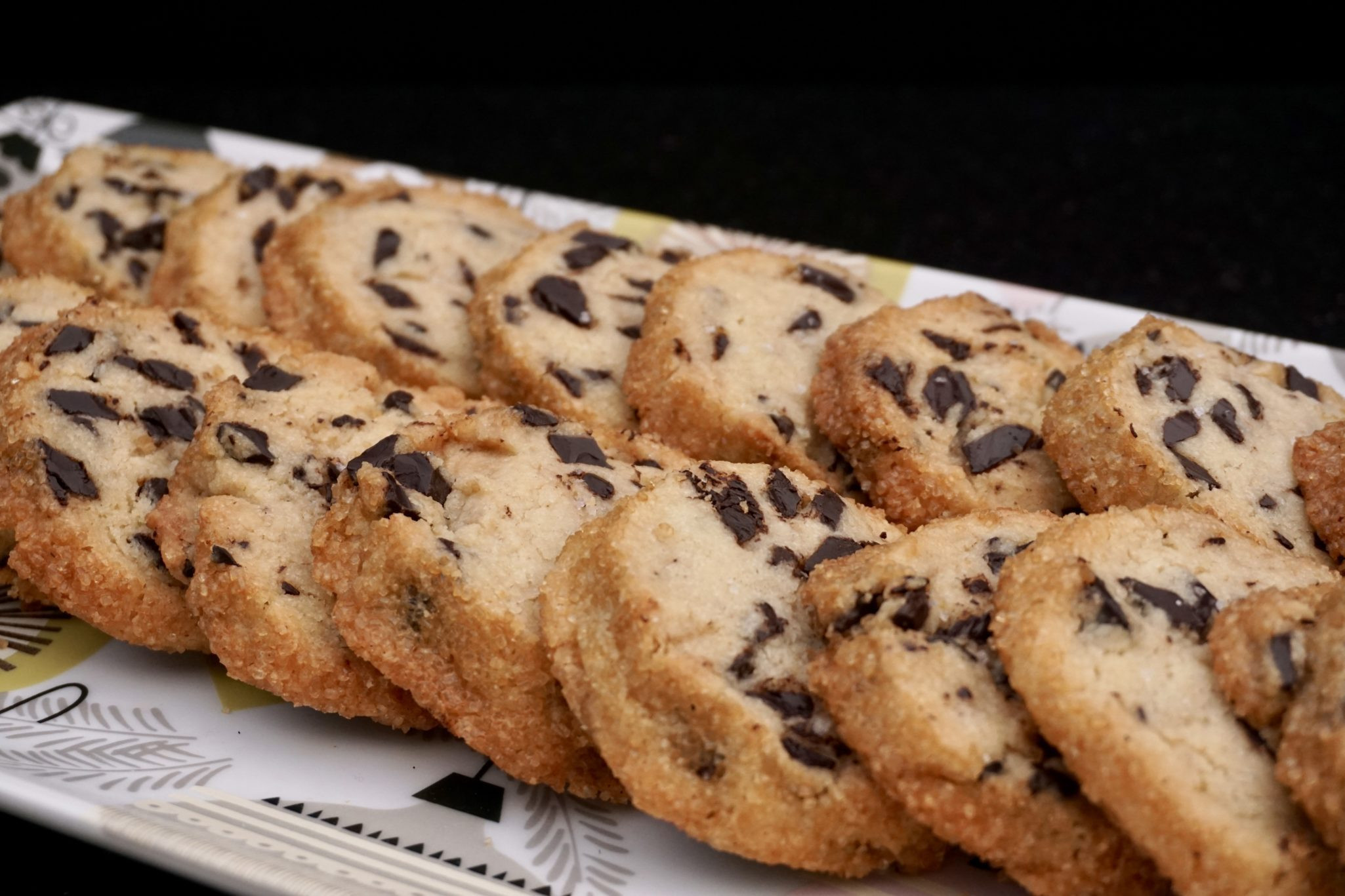 Salted Butter Chocolate Chunk Shortbread Cookies  Salted Butter & Chocolate Chunk Shortbread New Year s