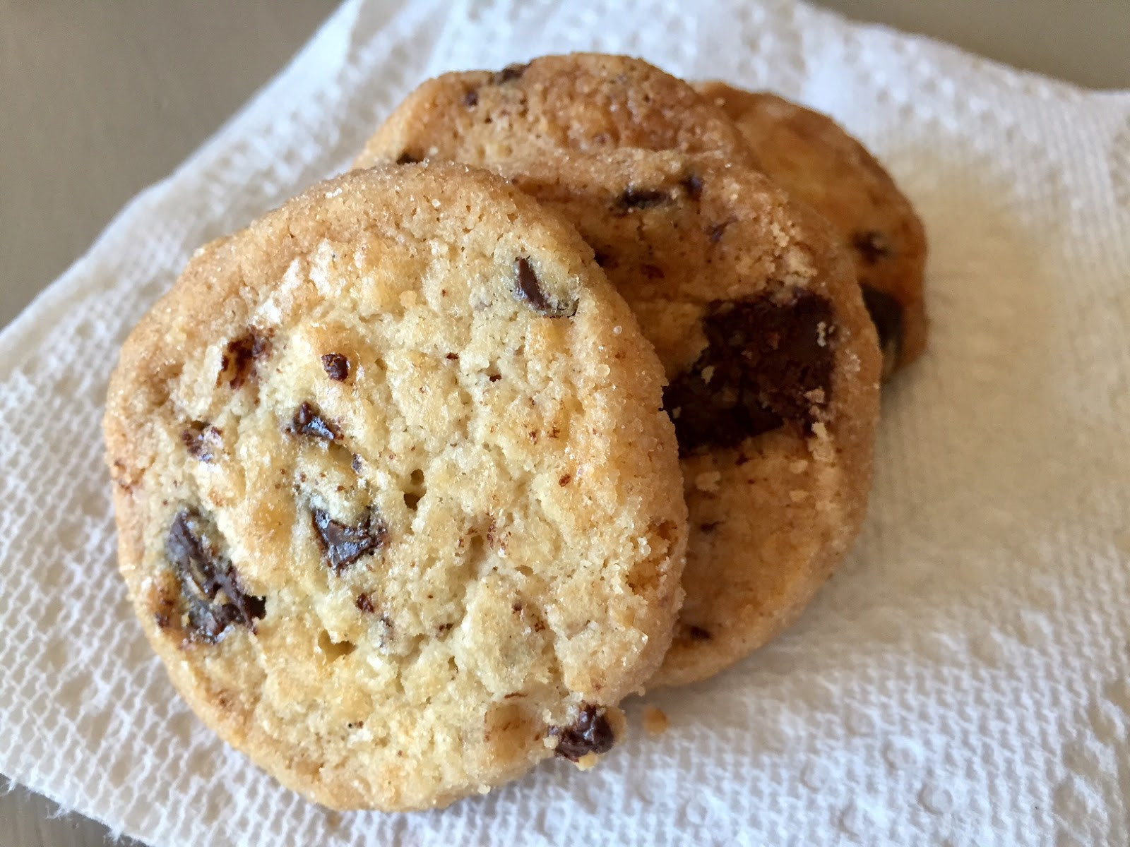 Salted Butter Chocolate Chunk Shortbread Cookies  Salted Butter Chocolate Chunk Shortbread