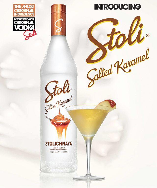 Salted Caramel Vodka Drinks  Make a Caramel Appletini with Stoli Salted Karamel Vodka