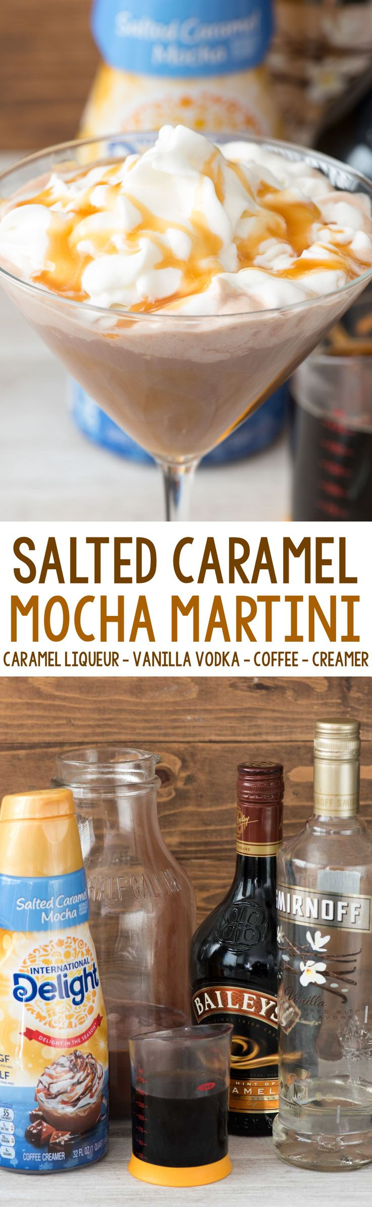 Salted Caramel Vodka Drinks  Salted Caramel Mocha Martini Recipe