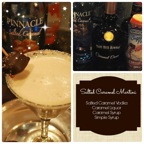 Salted Caramel Vodka Drinks  Salted Caramel Martini Drink Recipe