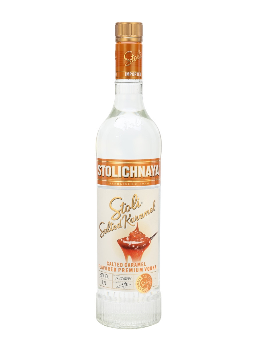 Salted Caramel Vodka Drinks  Stolichnaya Salted Caramel Vodka Buy from World s Best