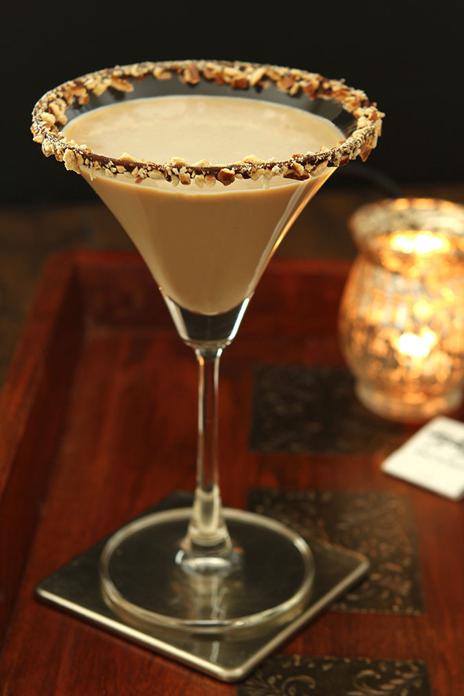 Salted Caramel Vodka Drinks  Bailey s Salted Caramel and Espresso Martini
