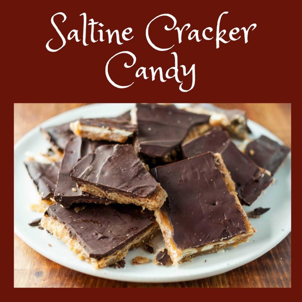 Saltine Crackers Dessert  Cracker Candy Recipe