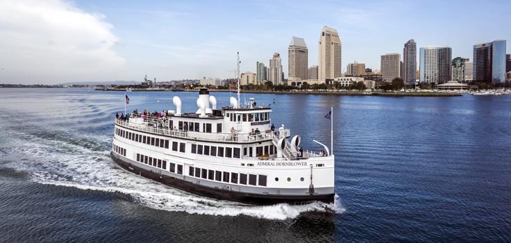 San Diego Dinner Cruise  Hornblower Cruises San Diego