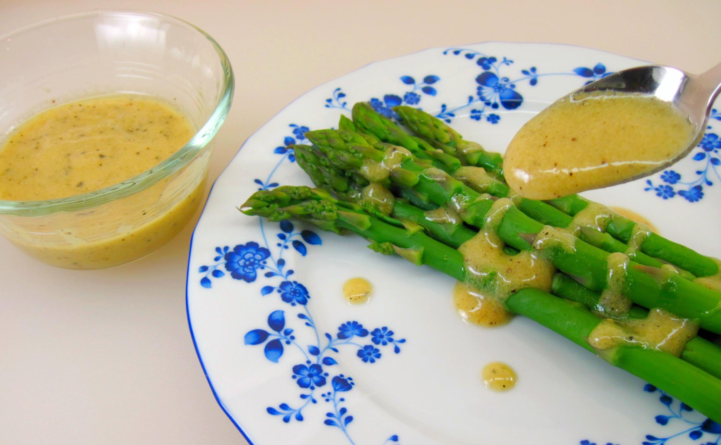 Sauce For Asparagus  Asparagus in Mustard Sauce