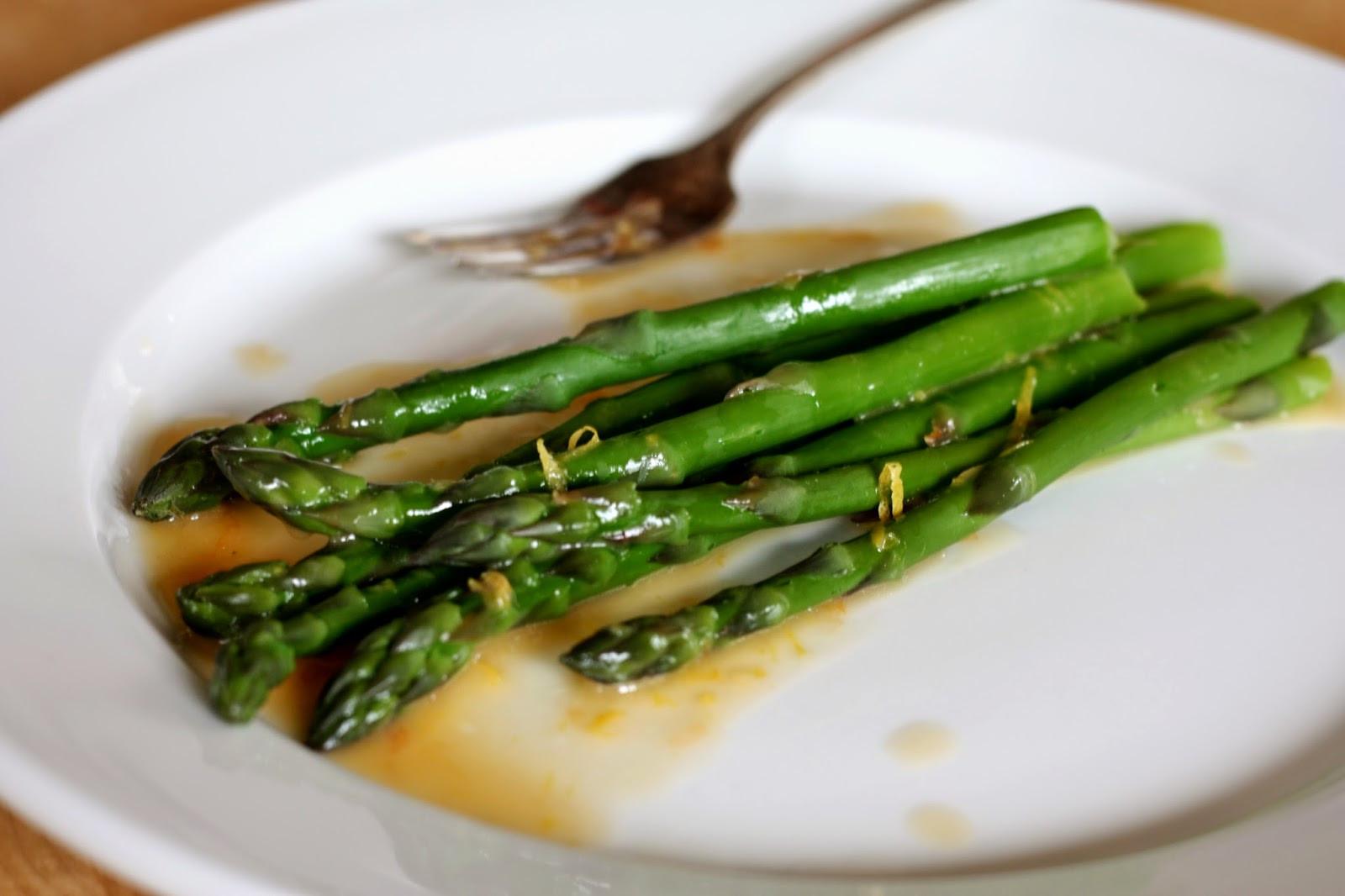 Sauce For Asparagus  ben and birdy Asparagus with Pink Grapefruit Sauce