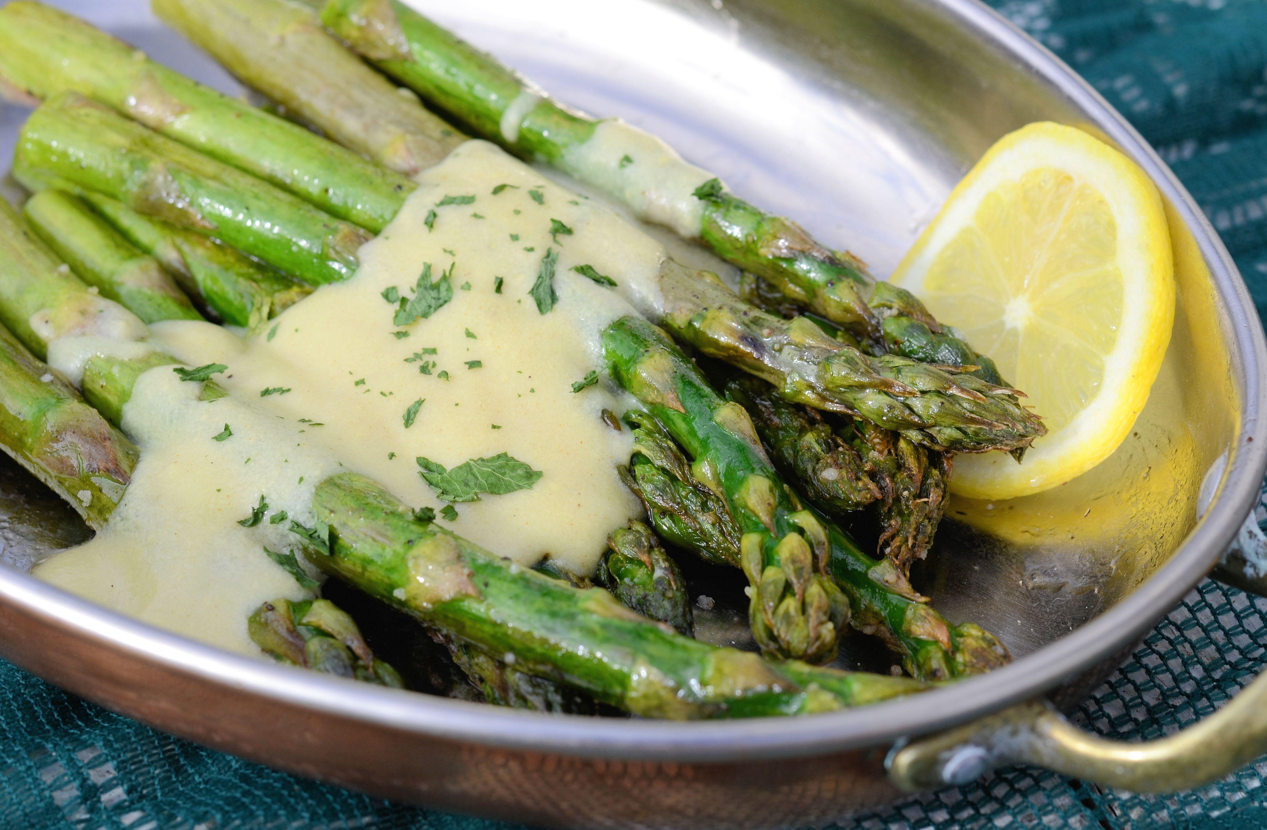 Sauce For Asparagus  Let it Bloom – Roasted Asparagus and Dijon Cream Sauce