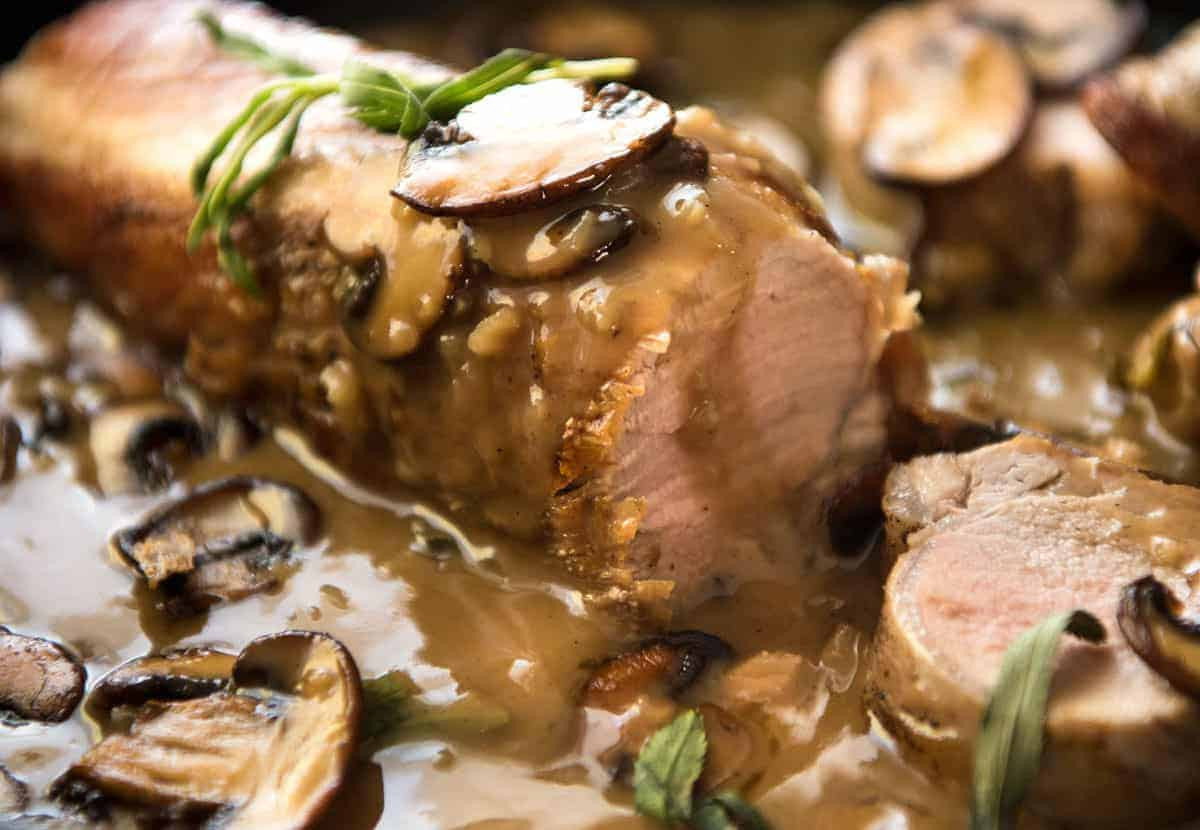 Sauce For Pork Loin  Pork Tenderloin with Creamy Marsala Sauce