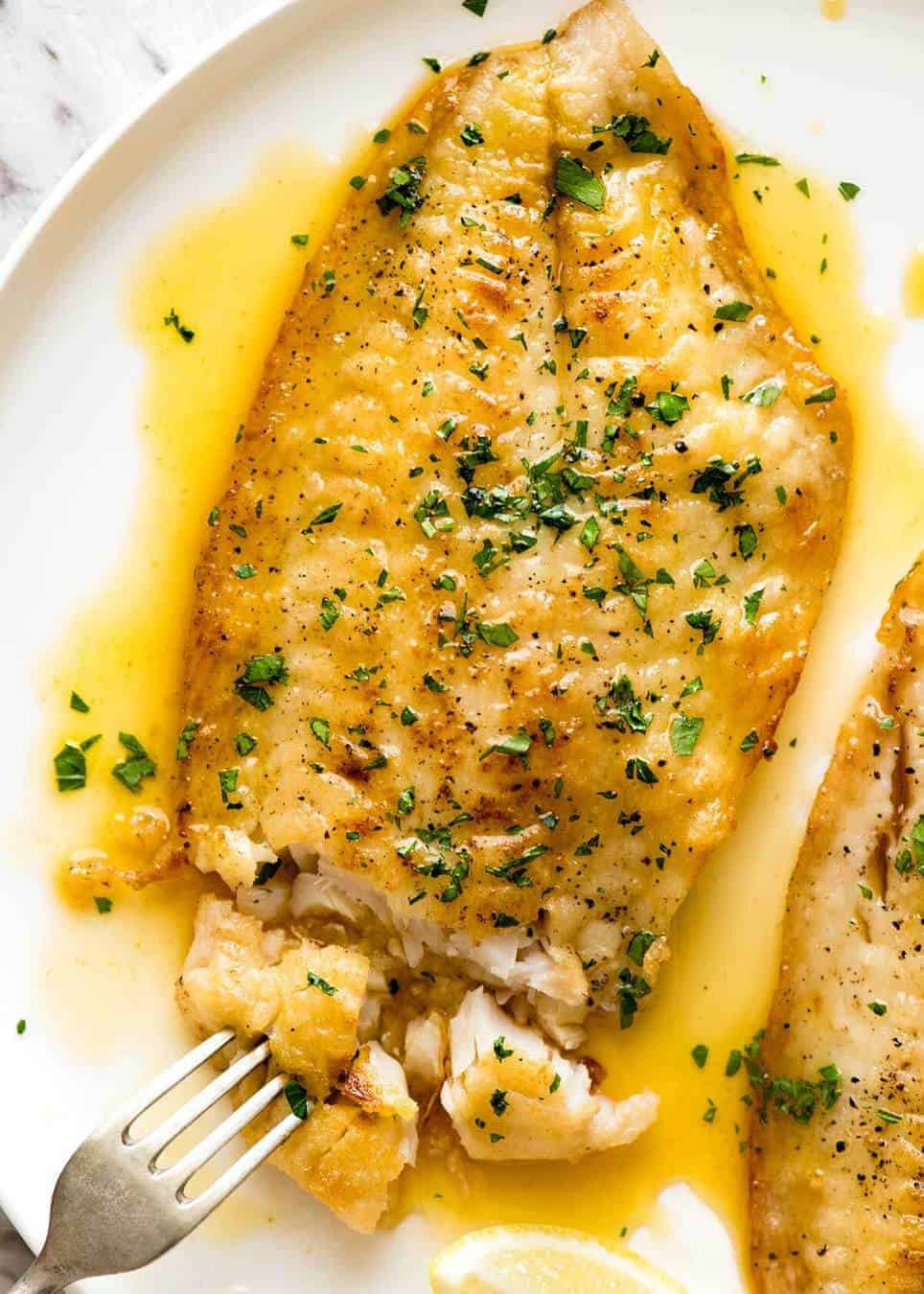 Sauces For Fish  Easy Lemon Sole Fillet Recipe
