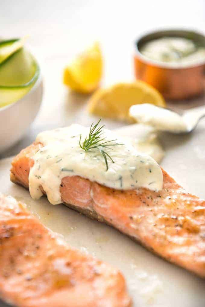 Sauces For Salmon  Creamy Dill Sauce for Salmon or Trout