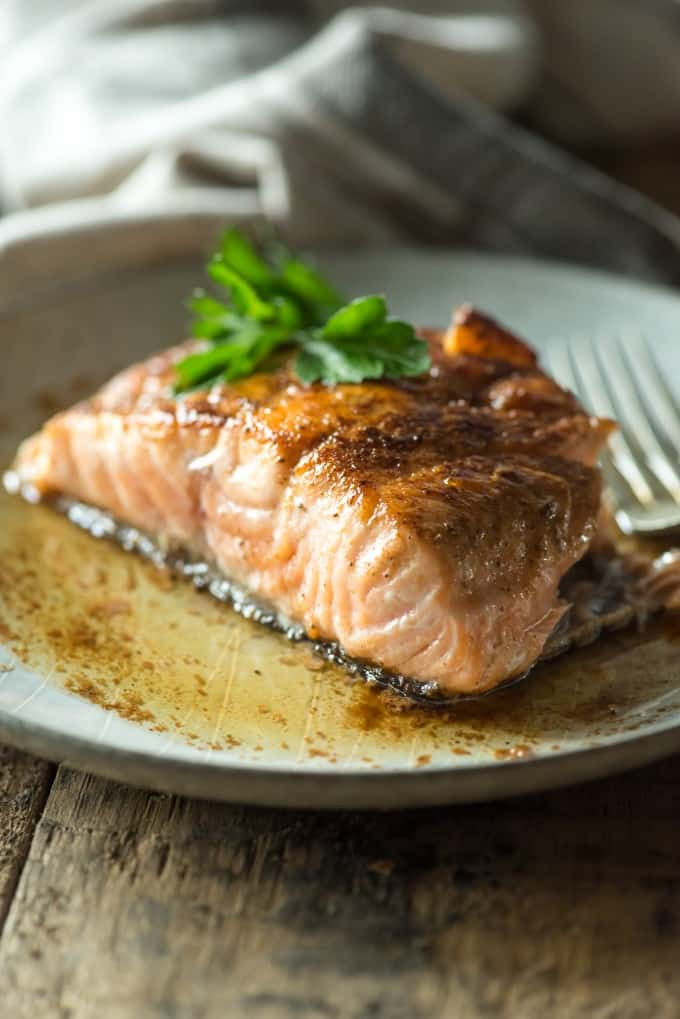 Sauces For Salmon  pan seared salmon with lemon butter sauce recipe