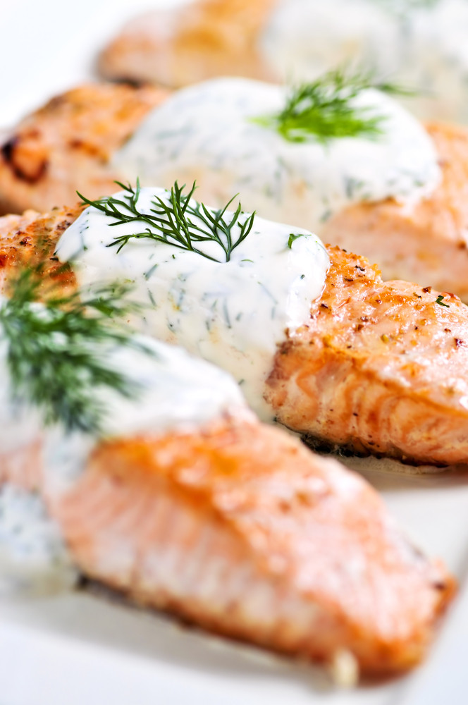 Sauces For Salmon  salmon recipes dill sauce