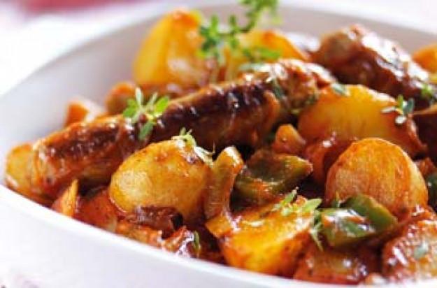 Sausage And Potato Casserole  Easy sausage casserole recipe goodtoknow