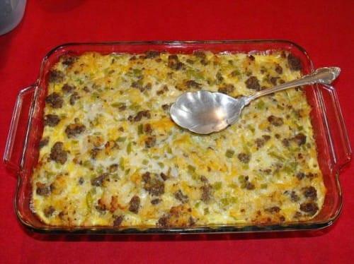 Sausage And Potato Casserole  Sausage and Potato Casserole Recipe 5 Points LaaLoosh