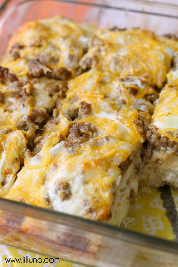 Sausage Biscuit Casserole  Biscuit Egg Casserole recipe