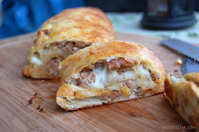 Sausage Bread Recipe  Pizza Week Day 3 Sausage Bread Soupbelly