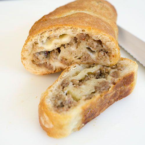 Sausage Bread Recipe  The 25 best Sausage bread ideas on Pinterest