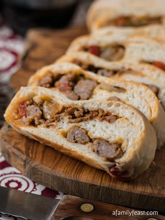 Sausage Bread Recipe  Sausage Bread A Family Feast