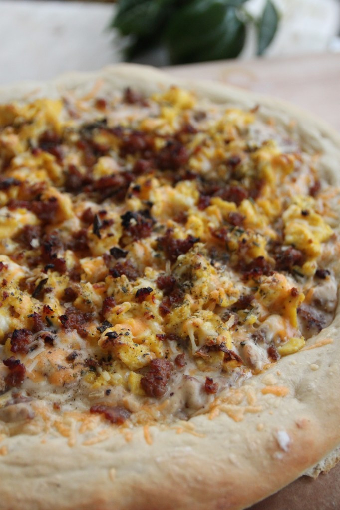 Sausage Breakfast Pizza  Sausage and Egg Breakfast Pizza – Bran Appetit