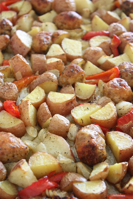 Sausage Potato Bake  Sausage And Potato Bake Recipe — Dishmaps